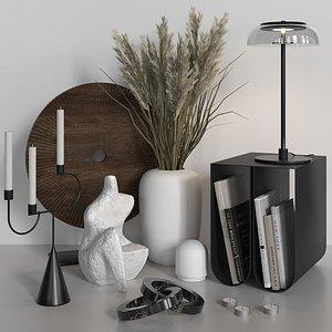3D vase candlestick lamp