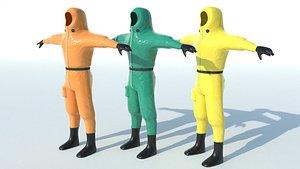 3D suit isolation