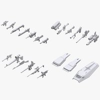 Gundam Earth Federation Weapon Collection