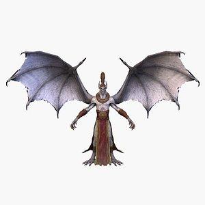 vampire rigged 3D model