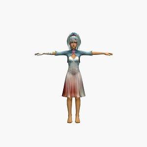 Psycho 3D model