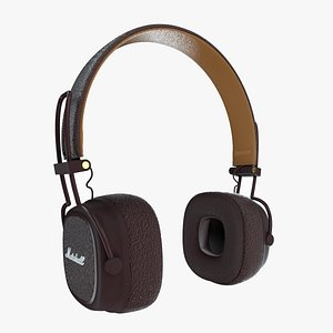 3D model marshall headphones