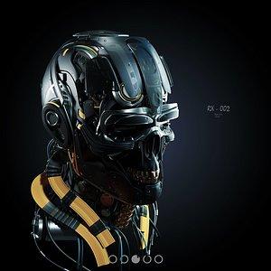 Sci Fi - Character Robot- Head 3D