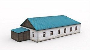 3D model Village House