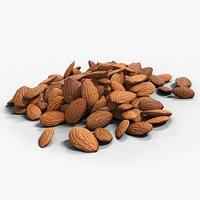 Almonds Unshelled