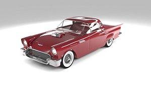Ford Thunderbird 1957 3D