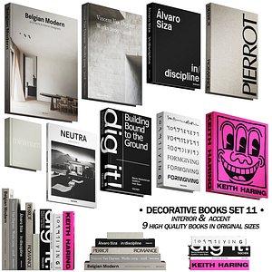 3D 058 Decorative books set 11 neutral 03 model