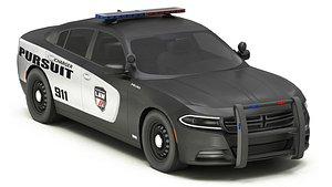 3D Car Police 7 model
