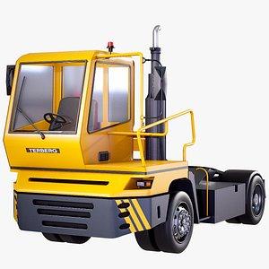 tractor terberg 3D