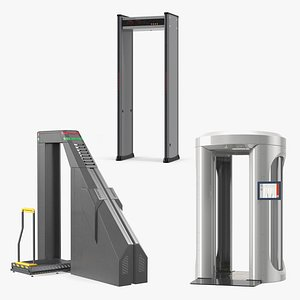 3D body airport security scanners