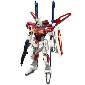 3D model Gundam ZGMF Sword Impulse