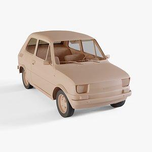 3D 1976 Fiat 126
