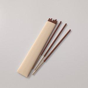 Incense 3D model