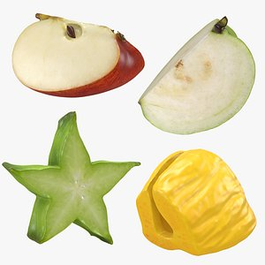 Fruit Slice Collection 2 3D model