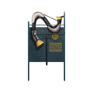 3D Welding Booth model
