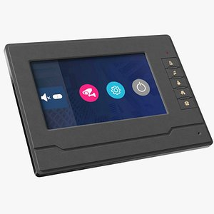 Amocam Video Intercom System Display 3D