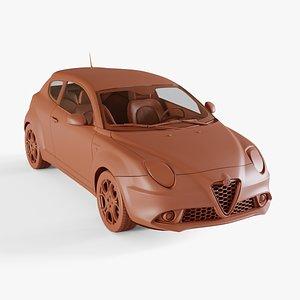 alfa-romeo mito 3D model