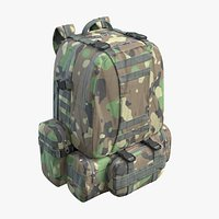 Military Backpack Green