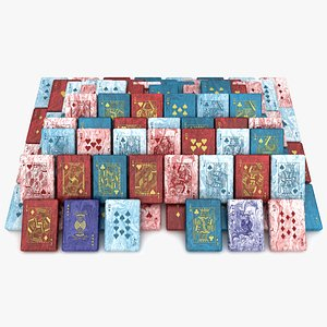 Playing Card Soap Collection 3D