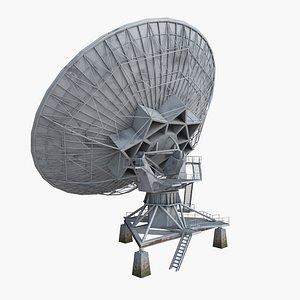 3D model Big Dish Antenna