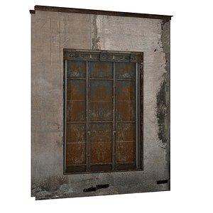 Industrial Metal Windows 01 02 model