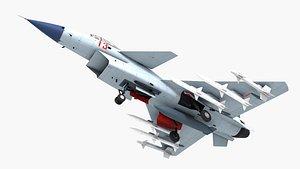 3D j-10 j-10a