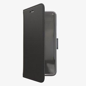 3D case smartphone wallet model