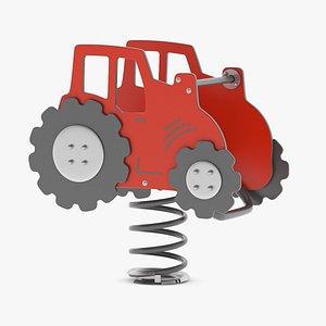3D model Lappset Tractor