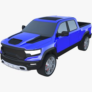 Dodge RAM 1500 TRX 2021 Exterior 3D