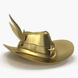 modern hat 3D model