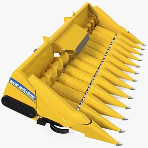 3D Rigid Corn Header 12 Rows New Holland Agriculture 980CR