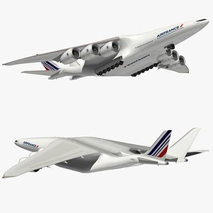 HyperCargo Air France 3D model