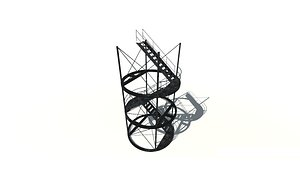 Stairs 3D model