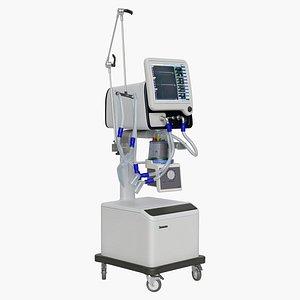 3D ventilator s1200 model
