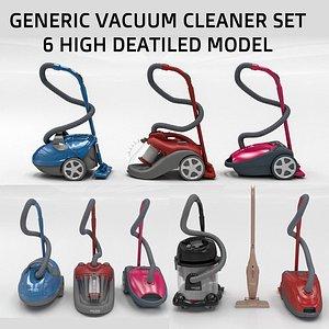 vacum cleaner 3D model
