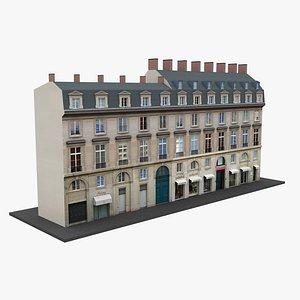 Paris Apartment Building 10 3D model