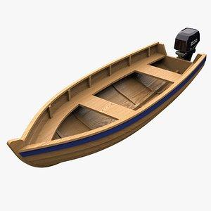 fishing boat 3D
