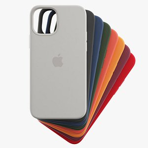 silicone case iphone 12 3D model