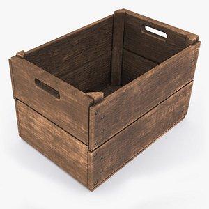 wooden crate model