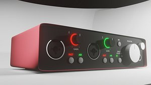 Audio interface - scarlett 2i2 3rd gen - Model model