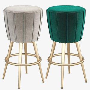 eichholtz bolton bar stool 3D model