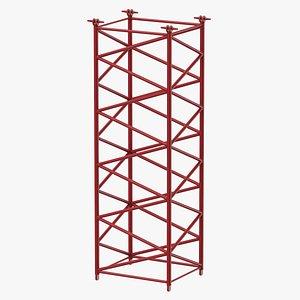 crane f intermediate section 3D