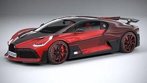 3D Bugatti Divo Lady Bug 2020
