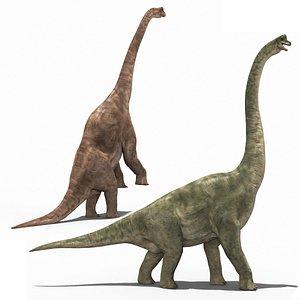 Brachiosaur Forever - 8K 3D model