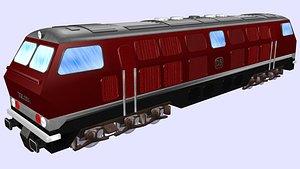 db v320 diesel engine 3D model
