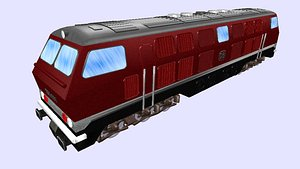 db v320 diesel engine 3D model
