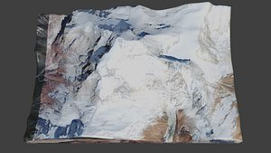 Dhaulagiri Mountain model
