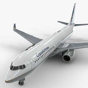 3D boeing 737-8 copa airlines model