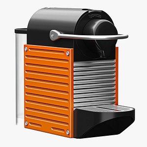 nespresso pixie espresso 3D model