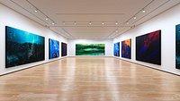 Art Museum Gallery Interior 1c